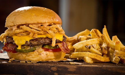 Two Groupons, Each Good for $9 Worth of Burgers and Fries at MOOYAH - San Antonio ($18 Value)