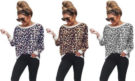 1 o 2 camisetas con estampado de leopardo