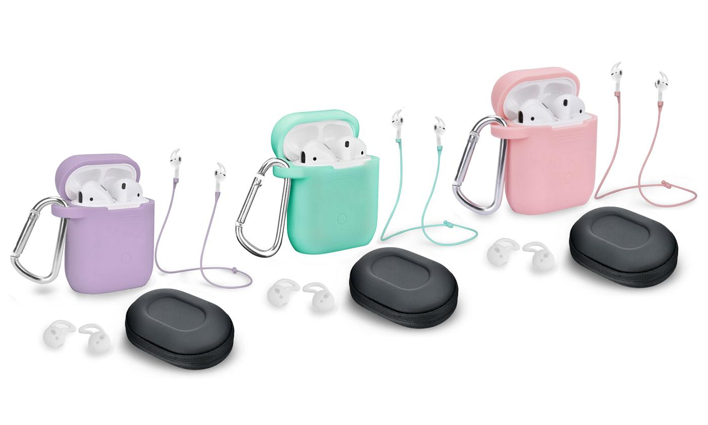 5-Pc AirPod Case Cover and Accessory Pack