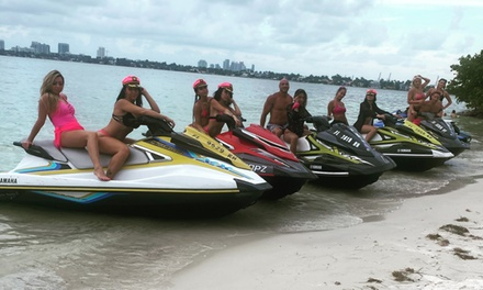 One 60- or 120-Minute Jet Ski Rental at Jet Skis On The Beach (Up to 70% Off)
