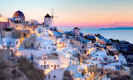 ✈Santorini y Miconos: 7 días y 6 noches para 1 con desayuno, vuelo de I/V desde Madrid o Barcelona y alojamiento