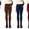 Women's High-Waist Fleece Leggings (3-Pack)