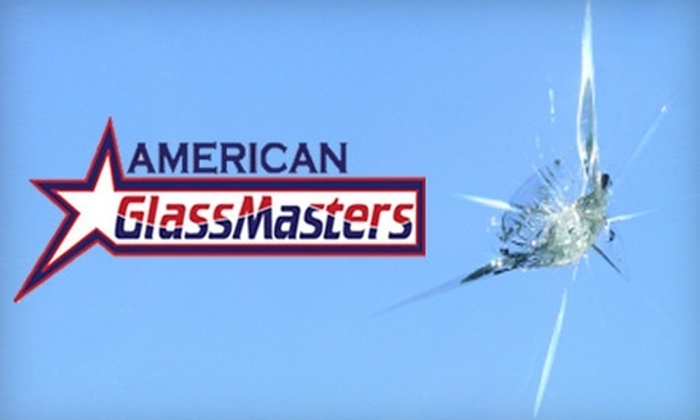 American Glass Masters - South Side: $20 for a $40 Windshield Ding Repair at American Glass Masters