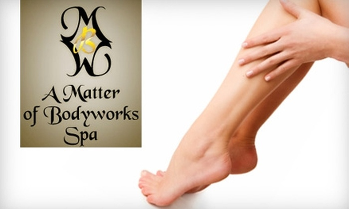 A Matter Of Bodyworks Spa - Calgary Trail North: $35 for $75 Worth of Waxing Services at A Matter Of Bodyworks Spa