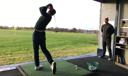 One or Two One-Hour Golf Lessons with Video Analysis at The York Golf Academy (Up to 55% Off)