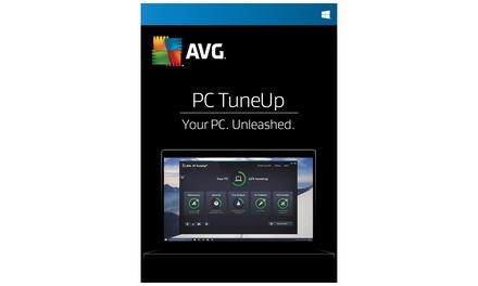 Licence AVG 2018 PC Tune Up pour 3 ordinateurs pour une durée d'1 an ou 2 ans