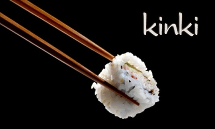 Kinki - Byward Market - Parliament Hill: $20 for $40 Worth of Sushi and Asian-Fusion Dinner Fare (Or $13 for $26 Worth of Lunch) at Kinki