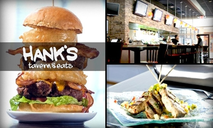 Hank's Tavern & Eats - Hyattsville: $15 for $30 Worth of Gourmet Bar Fare and Drinks at Hank's Tavern & Eats