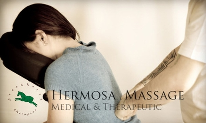 Hermosa Massage - Nob Hill: $10 for a 20-Minute Chair Massage at Hermosa Massage
