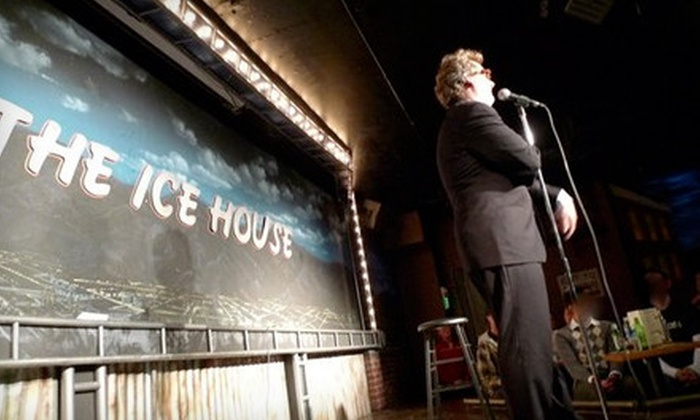 The Ice House - West Central: $20 for a Comedy Night with Snacks for Two and Tickets to a Future Show at The Ice House in Pasadena (Up to $85 Value)