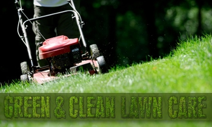 Green & Clean Lawn Care - Multiple Locations: Full-Service Lawn Care from Green & Clean Lawn Care. Three Options Available.