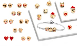 (Bijou)  Boite à bijoux Emoji -90% réduction