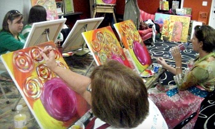 P'zazz Art Studio - Prattville: $15 for an Adult Art Class at P'zazz Art Studio ($30 Value)