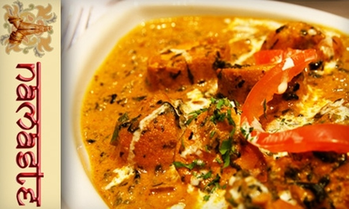 Namaste Indian Cuisine - Winchester: $15 for $30 Worth of Indian Cuisine and Drinks During Dinner Hours at Namaste Indian Cuisine