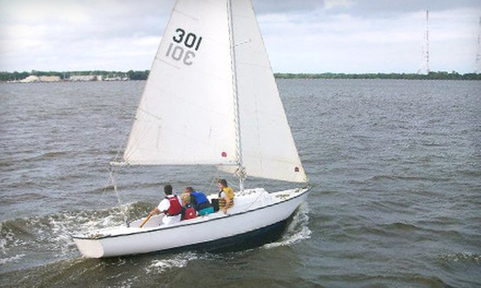 Annapolis Sailing School - Annapolis: Two-Hour Introduction to Sailing Lesson for One or Two from Annapolis Sailing School (Up to 58% Off)
