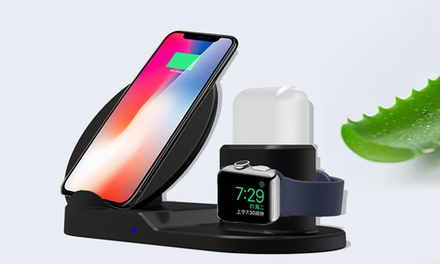 Three-in-One Charging Dock for iPhone, Apple Watch and Airpod: One ($34.95) or Two ($64.95)
