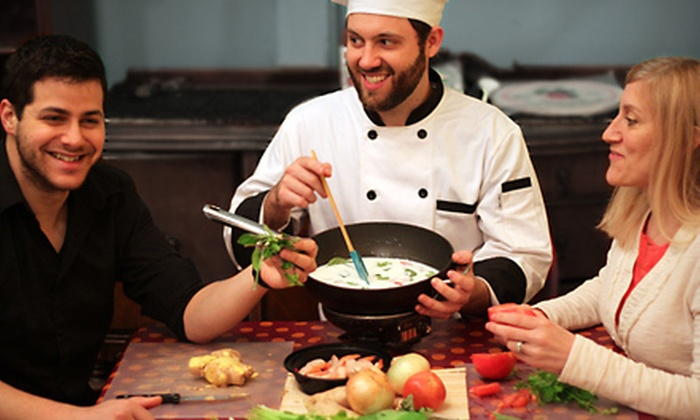 Basil Bears - Multiple Locations: Basic or Intermediate Thai Cooking Class for Two at Basil Bears (51% Off)
