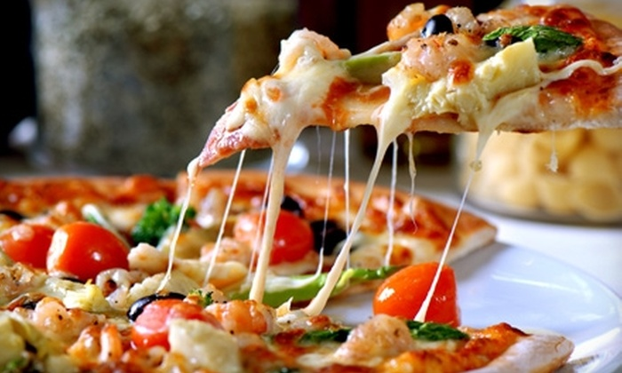 Panago Pizza - Multiple Locations: $10 for $25 Worth of Pizza and More from Panago Pizza. Choose from Nine Locations.