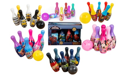 Sambro CharacterThemed Bowling Sets