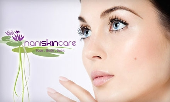Nani Skin Care - Monrovia: $59 for Seaweed Wrap or Salt-Glow Exfoliation Treatment at Nani Skin Care in Monrovia ($125 Value)