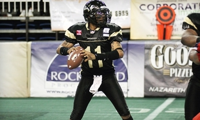 Lehigh Valley Steelhawks - Bethlehem: Lehigh Valley Steelhawks Indoor Football Game for Two or Four at Stabler Arena (Up to 58% Off). Three Games Available.