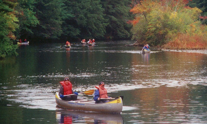 Foote Brothers Canoe and Kayak - Ipswich: Weekday Canoe Rental for up to Four People or Single Kayak Rental at Foote Brothers in Ipswich