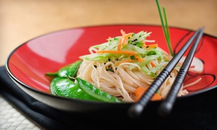 Bangkok Restaurant - Central Oklahoma City: $6 for $15 Worth of Asian Fare and Drinks at Bangkok Restaurant