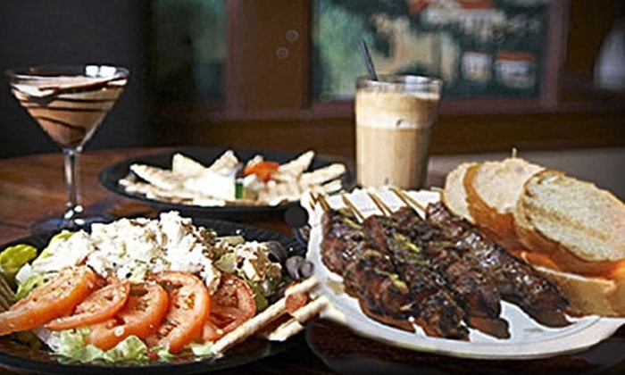 Byzantio Cafe & Bar - Neartown/ Montrose: $10 for $20 Worth of Taverna-Style Greek Fare and More at Byzantio Café & Bar