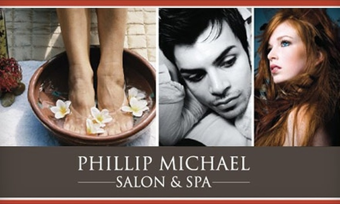 Phillip Michael Salon & Spa - Wyoming: $40 for $100 Worth of Services at Phillip Michael Salon & Spa in Wyoming