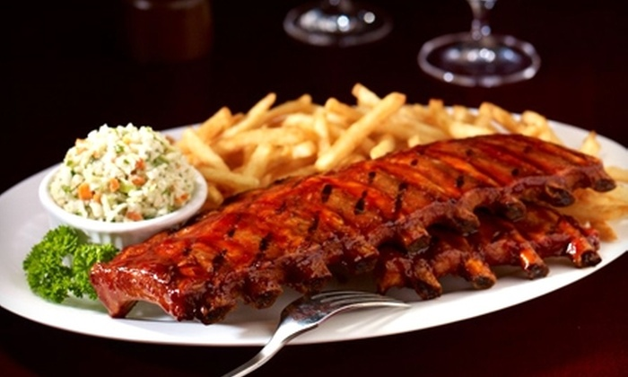 Baton Rouge - Southeast Calgary: $20 for $40 Worth of Grilled Dinner Fare or Lunch Fare at Baton Rouge