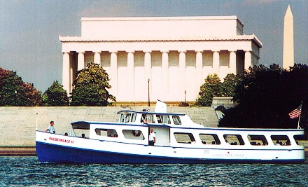 Capitol River Cruises: Two Tickets to a Potomac River Cruise - Capitol River Cruises in Washington