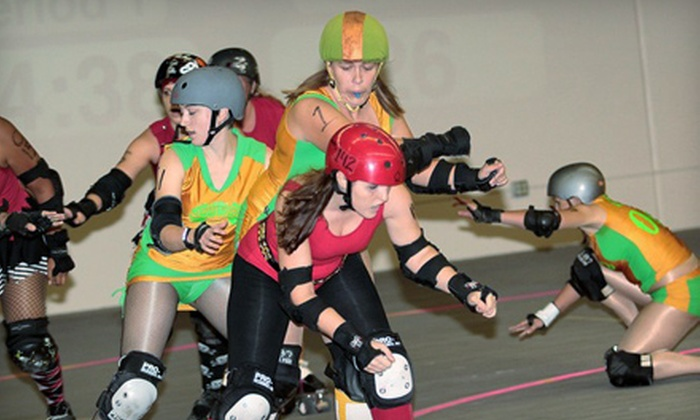 Tucson Roller Derby - Palo Verde Commerce Center: Outing for Two or 10-Admission Season Pass to Tucson Roller Derby at Bookmans Event Center (Up to 60% Off)