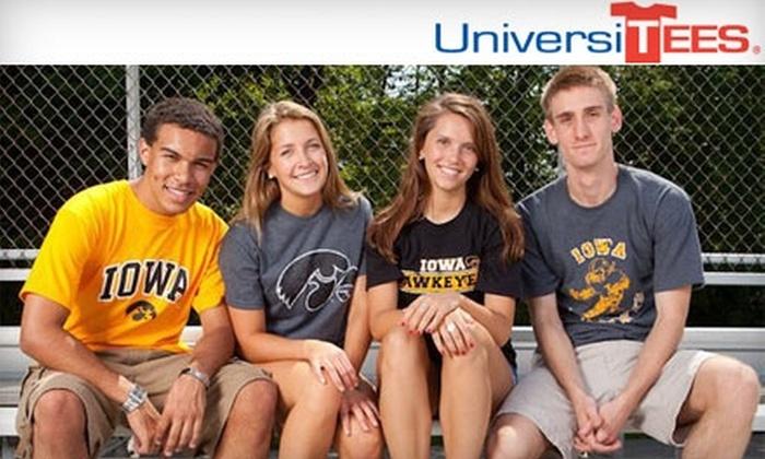 UniversiTEES - Longfellow: $12 for $24 Worth of Merchandise at UniversiTees