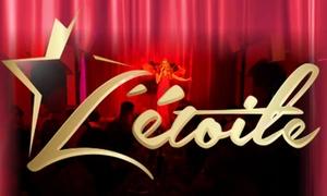 L'Étoile Cabaret: Dîner spectacle Cabaret Parisien pour 2 ou 4 personnes dès 99€ à L'Étoile Cabaret