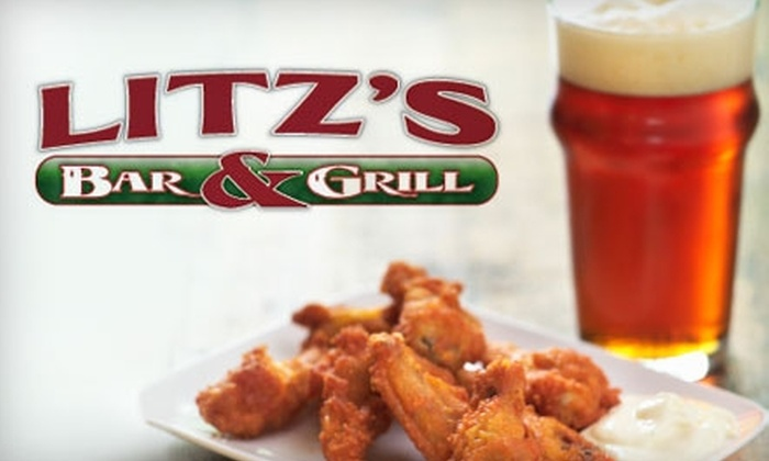 Litz's Bar and Grill - Logan: $7 for $15 Worth of Menu Fare and Drinks at Litz's Bar and Grill