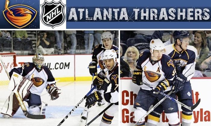 Atlanta Thrashers  - Atlanta: Half Off Tickets to See the Atlanta Thrashers