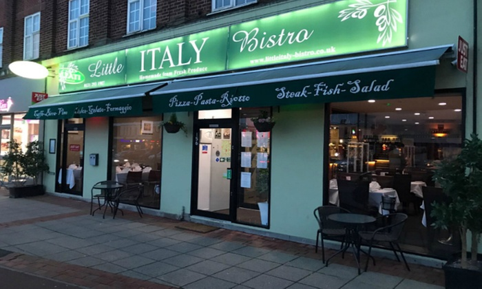 Little Italy Bistro - Shirley: Three-Course Italian Dinner for Two or Four at Little Italy Bistro (Up to 37% Off)