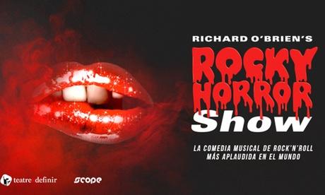 Entrada a ''Rocky Horror Show'' del 1 de noviembre al 5 de diciembre por 19,95 € en Gran Teatro Bankia Príncipe Pío