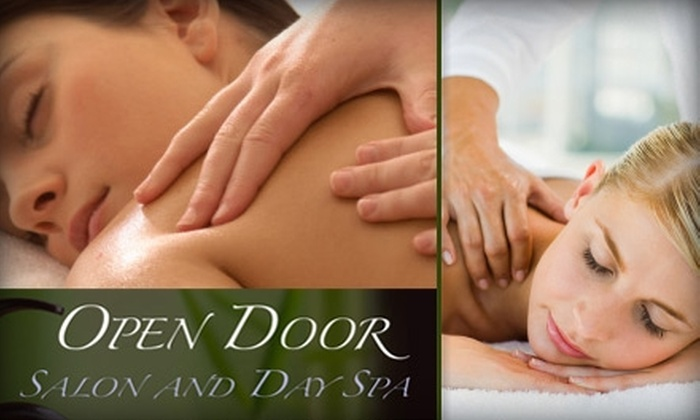 Open Door Salon & Day Spa - East Broad: $35 for a 60-Minute Massage at Open Door Salon & Day Spa