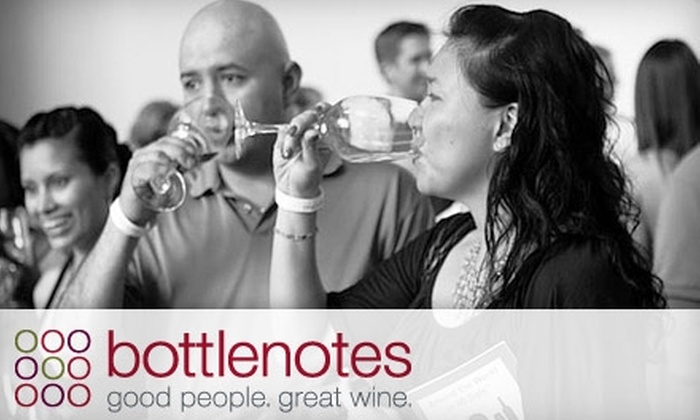 "Bottlenotes LA - Hollywood: $37 for One Ticket to the ""Around the World in 80 Sips"" Wine Tasting Event from Bottlenotes LA on Thursday, August 19, at 8 p.m."