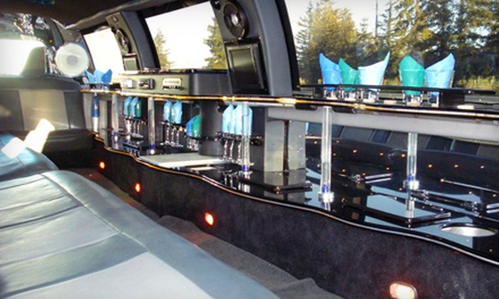 Executive Limos - Woodland: Wine-Tour Package or a VIP Club Night from Executive Limos