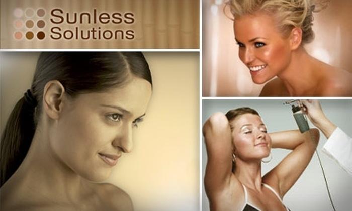 Sunless Solutions - Deer Creek: $20 for Sunless Solutions Full-Body Airbrush Tan ($40 Value)