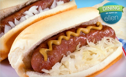Bratwurst Meal for 2 (up to a $38 value) - Spritzenhaus in Brooklyn