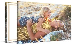 Photo Gifts: Individuelle Foto-Leinwand XXL bis 150 x 75 cm bei Photo Gifts (bis zu 81% sparen*)