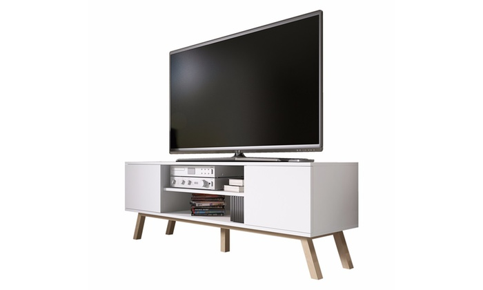meuble tv scandinave groupon shopping. Black Bedroom Furniture Sets. Home Design Ideas