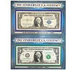 Two Centuries of US Currency Bills