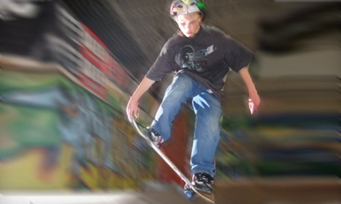 Cream City Skateboard Park - Butler: $22 for Four Indoor Skateboard Passes at Cream City Skateboard Park in Butler ($44 Value)