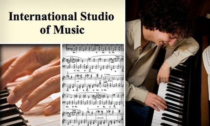 International Studio of Music - Chisholm Valley West: $60 for Two Months of Group Piano Lessons at the International Studio of Music