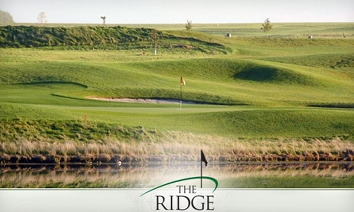 The Ridge Golf Course - Sioux Center: $25 for 18 Holes of Golf, a Cart Rental, and a Bag of Balls at The Ridge Golf Club
