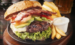 Hydro Bar & Grill: $11 for $20 Worth of American Pub Dinner Food at Hydro Bar & Grill